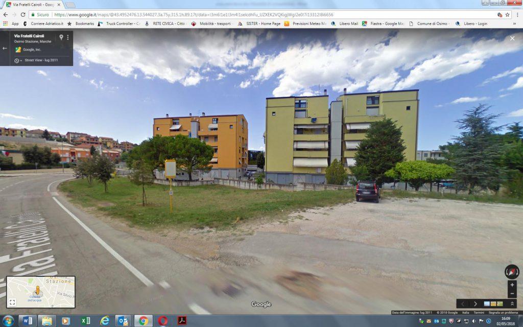 Area verde via F.lli Cairoli