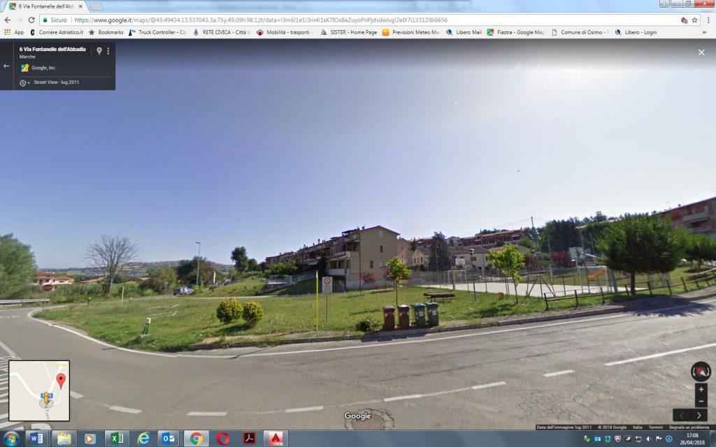 Area verde via Settembrini