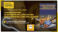 """Il Movimento Cinque Stelle Osimo ha il piacere di invitarvi alla presentazione del libro di Franco Fracassi e Tiziana Alterio, con prefazione di Elio Lannutti, dal titolo """"I Conquistatori: La […]"""