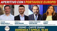 La tappa di Osimo del vicepresidente del Parlamento Europeo Fabio Massimo Castaldo è stata accolta da una grande partecipazione di cittadini domenica 7 aprile davanti alla sede appena rinnovata del […]