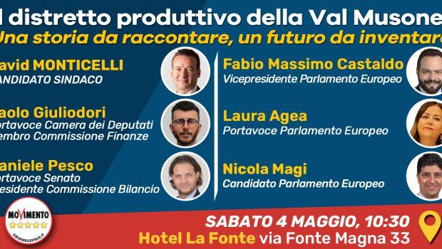 Sabato 4 maggio alle ore 10.30 il Movimento 5 Stelle Osimo ha il grande piacere di invitarvi a un incontro con le piccole medie imprese e le associazioni di categoria […]