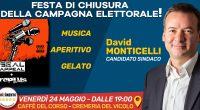 Siete tutti invitati alla festa di fine campagna elettorale venerdì dalle ore 19 in poi al Caffè del Corso e alla Cremeria del Vicolo di #Osimo! Musica, aperitivo, gelato offerto […]