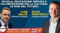 Il 21 maggio 2019 alle ore 13.00 ad Osimo si terrà un altro appuntamento di grande spessore: in piazza del Comune sarà ospite del Movimento 5 Stelle di Osimo Luigi […]