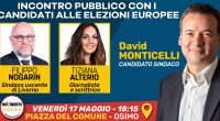 Venerdì 17 maggio, dalle ore 18.15, saremo in Piazza del Comune a #Osimo con 2 ospiti d'eccezione: Filippo Nogarin e Tiziana Alterio! Filippo Nogarin non credo abbia bisogno di presentazioni, […]